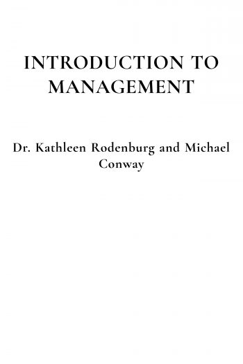 Cover image for Introduction to Management