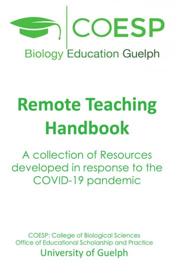 Cover image for COESP Remote Teaching Handbook